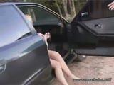 מציצות וזיונים חמים באוטו ביער